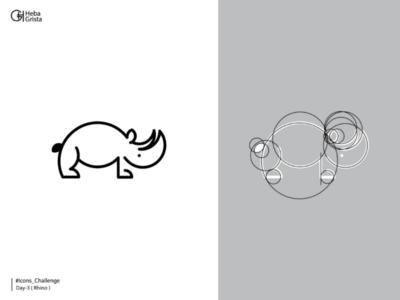 Rhino - icons challenge branding rhino icon