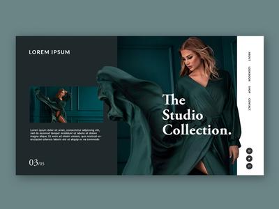 Fashion Brand Mockup Page