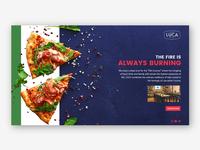 Italian Restaurant Landing Page colorful modern branding ui website web design web design