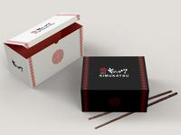 Kimukatsu Package Design branding package design packaging package