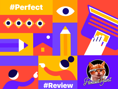 Coming Soon on Product Hunt illustration product design design dashboard comment collaboration branding product