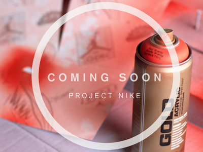 Project Nike troy bee design nike