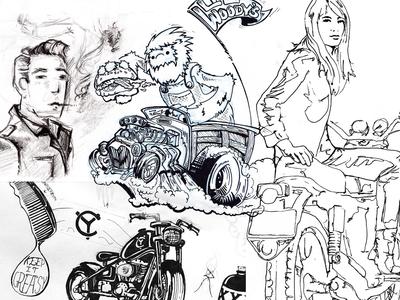 Doodles on doodles