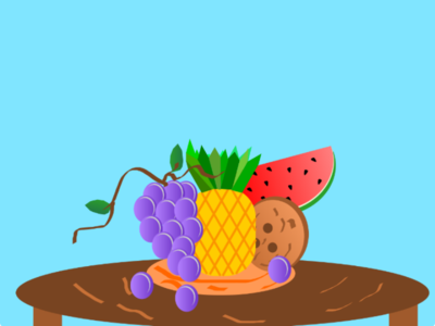 Tropical fruits vector fruits illustrations