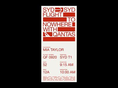 Airlines Studies I. flight ticket airport flight booking flight minimal artwork graphic design typography