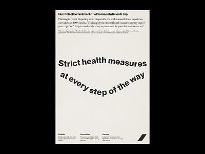 Airlines Studies III. advertising airlines branding minimal artwork design typography poster design vintage poster poster