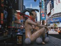 2004 cgi digital art aesthetic 3d