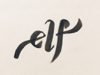 Brush Lettering: Romance with Letters