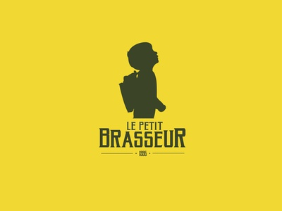 Le Petit Brasseur design illustration charte graphique rap logodesign logo design logo infographie