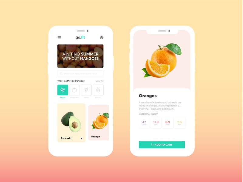 go.fit - Healthy Food App