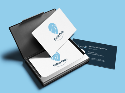 business card print physiotherapy homecare care logo illustration design branding brand identity brand
