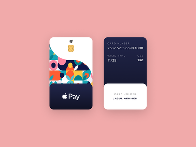Vertical credit card card design cards ui card new ux ui design