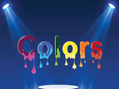 color illustrator illustration typography vector icon logo graphic design design art