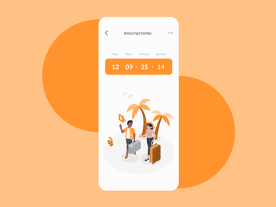 Daily UI #014 - Countdown Timer dailyui0014 countdown timer countdowntimer countdown mobile mobile app design daily 100 challenge dailyuichallenge dailyui ux figmadesign ui figma