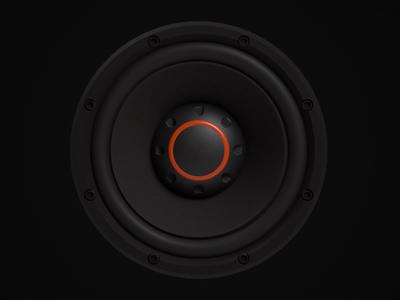 3D Model of a Speaker