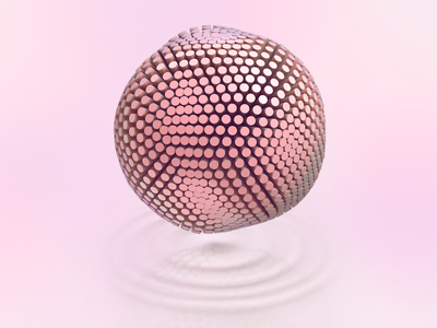 Iridescent 3D Visual iridescence iridescent minimal simple shape 3d model light orb sphere 3d illustration visual c4d cinema4d 3d design 3d zajno