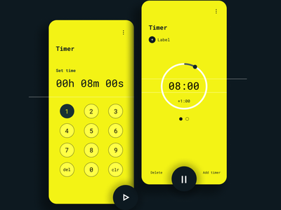 Countdown Timer UI Design 14 daily ui dailyui 100daychallenge 100 day challenge daily 100 challenge timer countdown countdown timer ui ux uiux ui design ux design mobile ui mobile app mobile app design