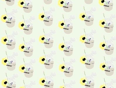 Flower Pattern illustration pattern design
