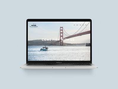 Big C's Charters - Branding & Website outdoor fishing ui website graphic design design logo branding
