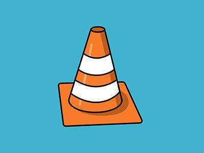Pylon no.2 cone pylon illustration vector illustration vector