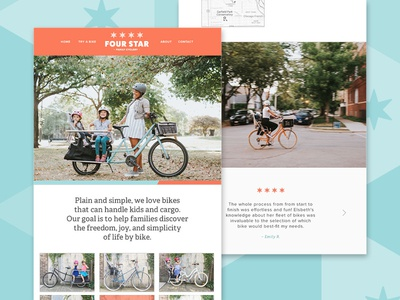Four Star Family Cyclery | Website