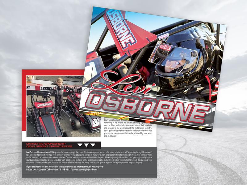 Hero Card Design racecar racing racer graphic design postcard hero card mark typography design