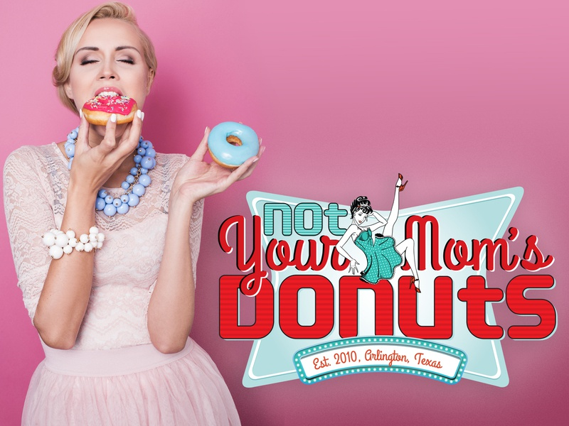 Logo Design donut shop creative vector graphic design mark identity logo design branding typography design logo