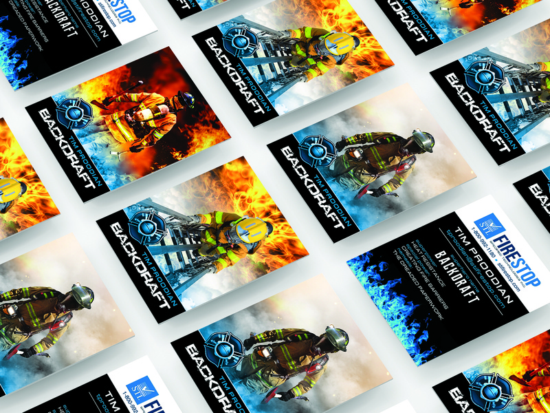 Trading Card Design firemen cards business designs fireman design graphic design brand trading cards fire hero branding identity business card typography trading card