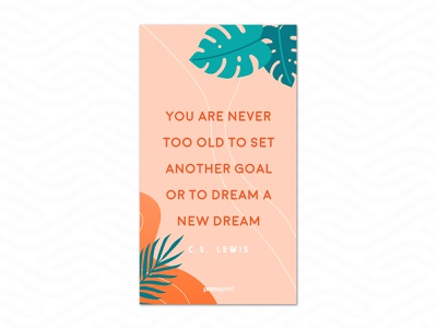 Mobile Download: June vector illustration typography dream quote cs lewis download mobile free design graphic