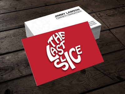 The Last Slice - Logo & Business Cards