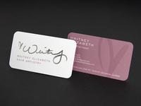 Whitney Elizabeth Business Cards