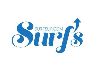 Surfs Up Logo Concept