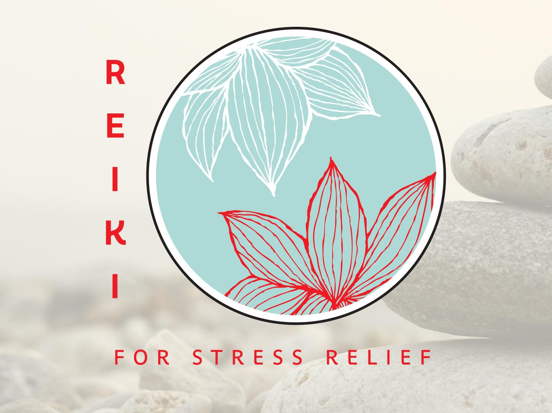 Reikilogo healing medical vector graphic design brand identity logo design icon branding mark typography business card design logo