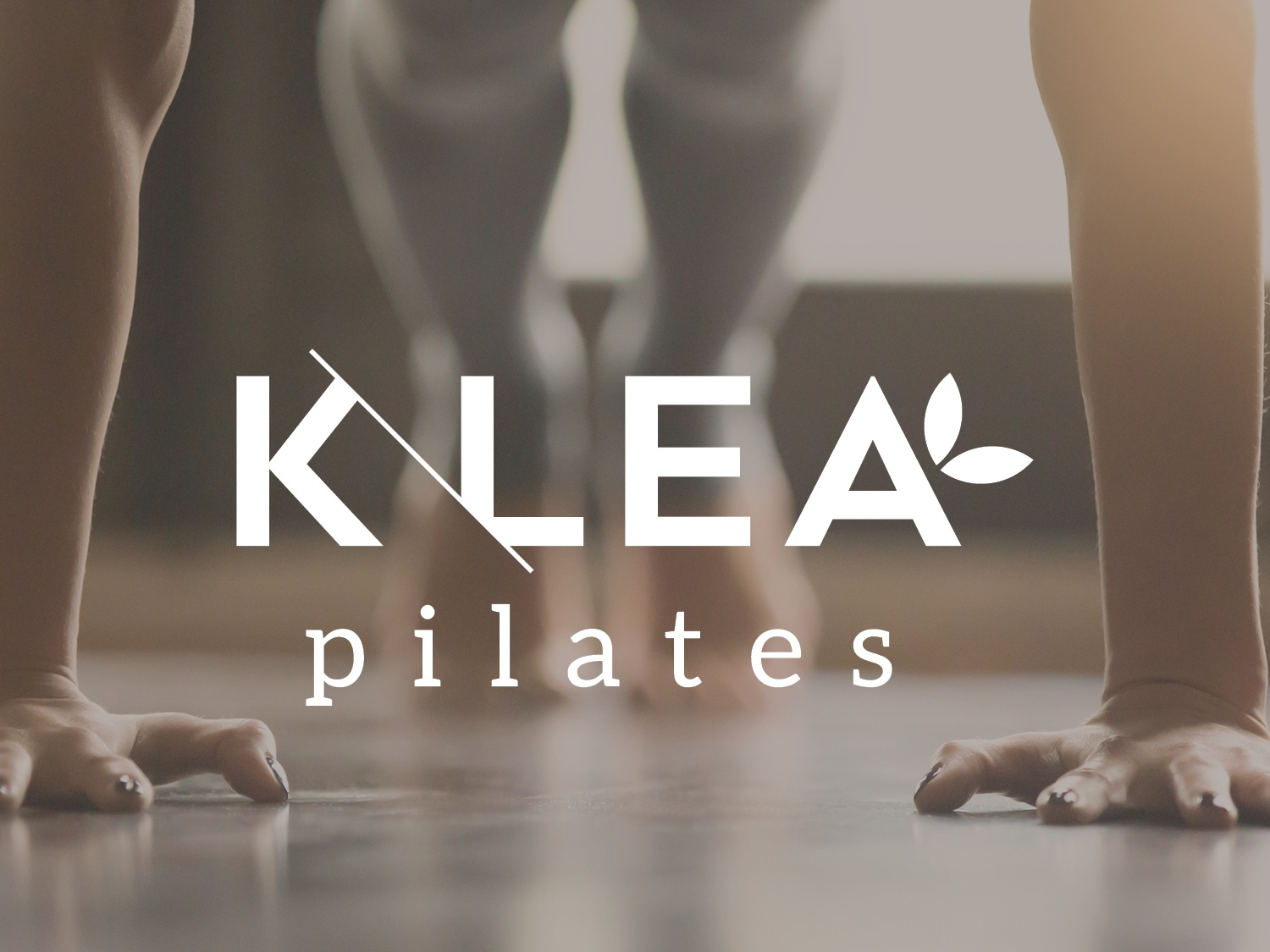 Klea Pilates vector creative graphic design business brand logo design icon branding mark typography design logo