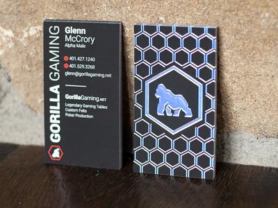 Gorilla Gaming Business Card Design