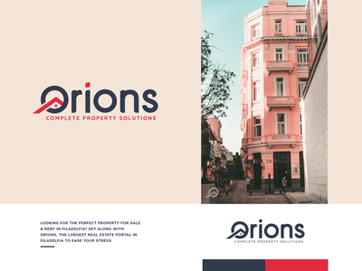 Orions-Property Solutions brand identity bre branding fainding property property solutions app property solutions logo