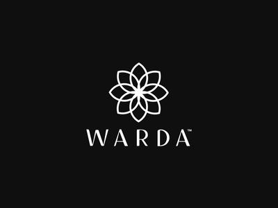 Warda logo design minimal flat creative brand identity branding designers graphic design logo design