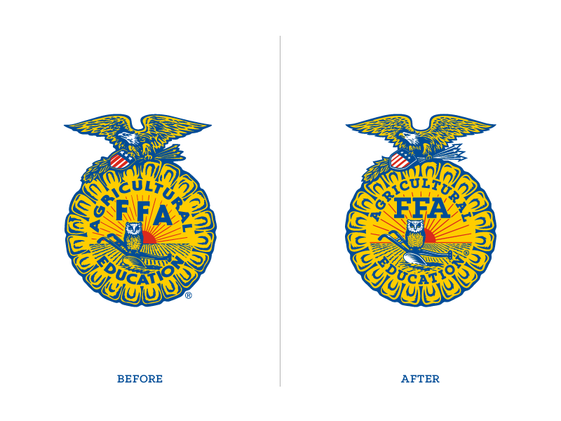national ffa organization—logomilesherndon - dribbble
