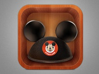 Mickey Ears Icon