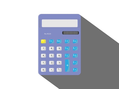 my calculator illustrator vector vectorart calculator