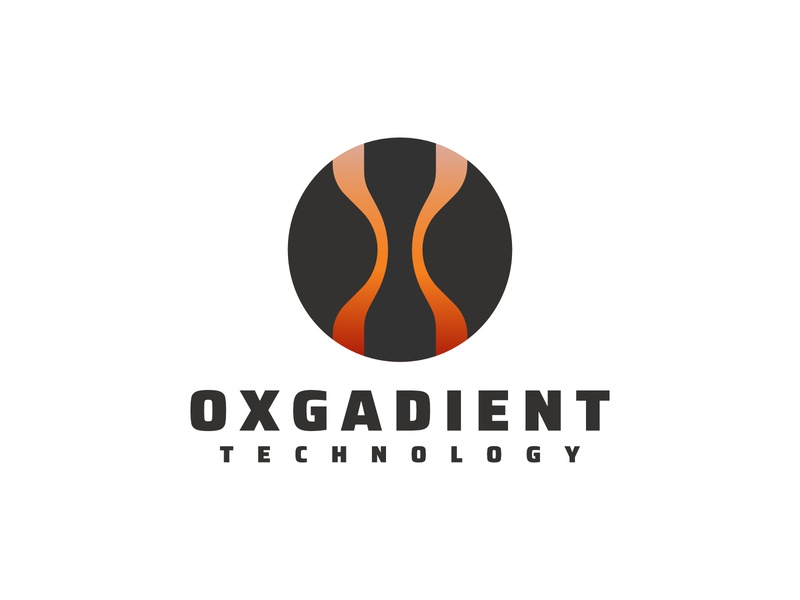 Round Gradient design brand company gradient modern logo branding app exploration abstract
