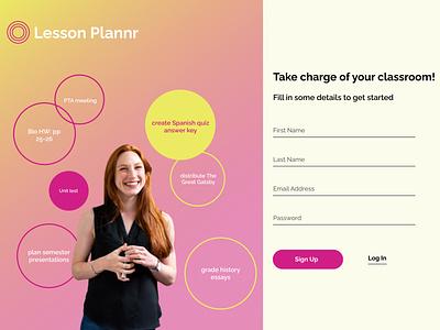 Daily UI 001: Sign Up Form design dailyui