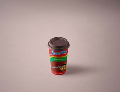 Indomie Kuah Instan Cup product design
