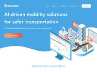 Waycare website design