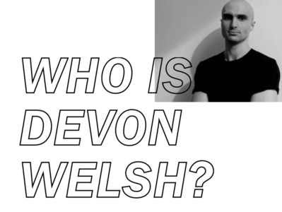 Who is? web music typography website