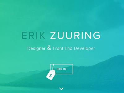 Button Detail portfolio button website personal