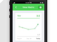 Metric Tracking