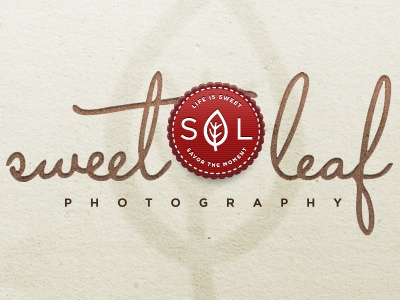 Sweet Leaf Photography capistrano gotham red brown texture leaf stamp