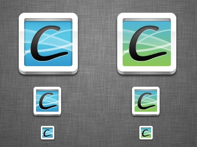 Mac App Icon Ideas icon mac app app icons green blue white linen