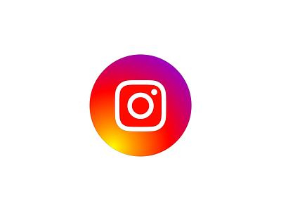 Icon Instagram (Colorful) instagram icon instagram good icon art art corel draw authentic perfectly top elegant minimalist simple now modern colorful social media icon design